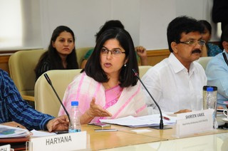 Ms Shireen Vakil, Head Policy and Advocacy Tata Trusts speaking at NITI event