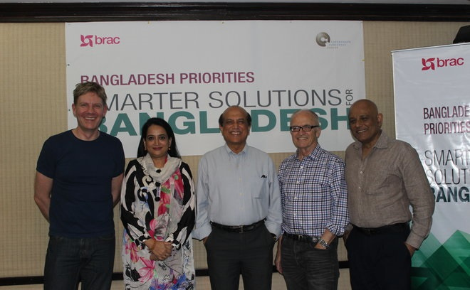 Bangladesh Priorities Eminent Panel with Copenhagen Consensus Center president and founder, Bjorn Lomborg