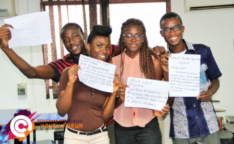 What difference will the Youth Forum make? image