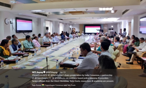 NITI Aayog and India Consensus collaboration image