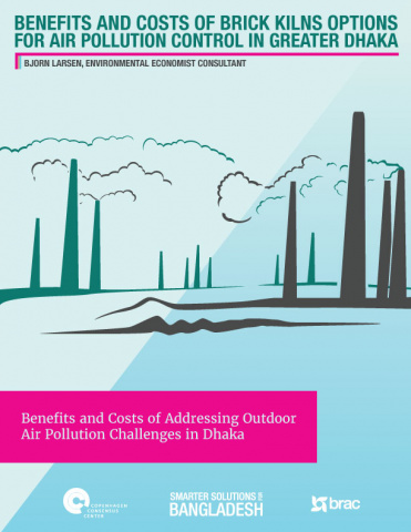 Brick kilns options for air pollution control in greater Dhaka image