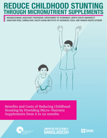 Reduce Childhood Stunting Through Micronutrient Supplements image