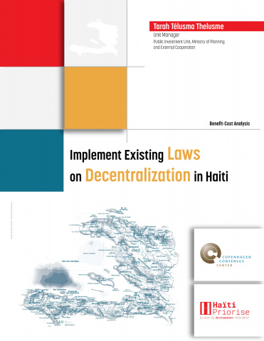 Implement Existing Laws on Decentralization in Haiti image