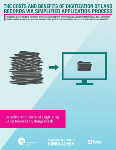 The Costs and Benefits of Digitization of Land Records via Simplified Application Process image