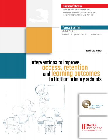 Interventions to improve access, retention and learning outcomes in Haitian primary schools image