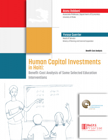 Human Capital Investments in Haiti: Benefit-Cost Analysis of Some Selected Education Interventions image