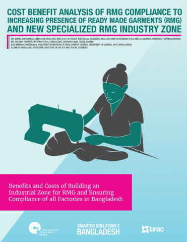 Cost Benefit Analysis of RMG Compliance to Increasing Presence of Ready Made Garments (RMG) and New Specialized RMG Industry Zone image