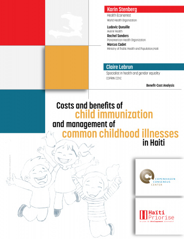 Costs and benefits of child immunization and management of common childhood illnesses in Haiti image