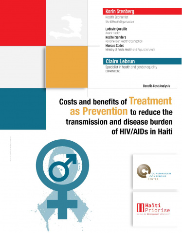 Costs and benefits of Treatment as Prevention to reduce the transmission and disease burden of HIV/AIDS in Haiti image