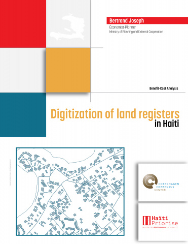 Digitization of land registers in Haiti image