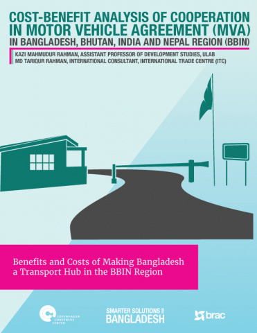 Cost-Benefit Analysis of Cooperation in Motor Vehicle Agreement in Bangladesh, Bhutan, Inia and Nepal Region image