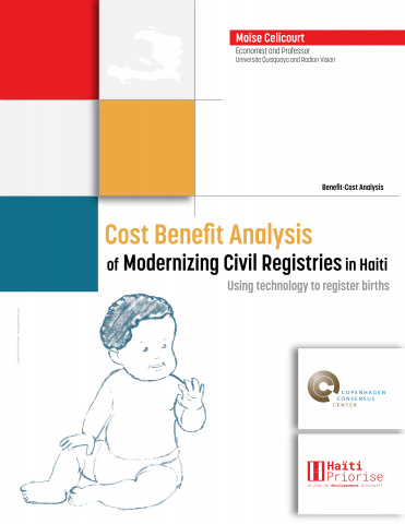 Cost Benefit Analysis of Modernizing Civil Registries in Haiti - Using technology to register births image