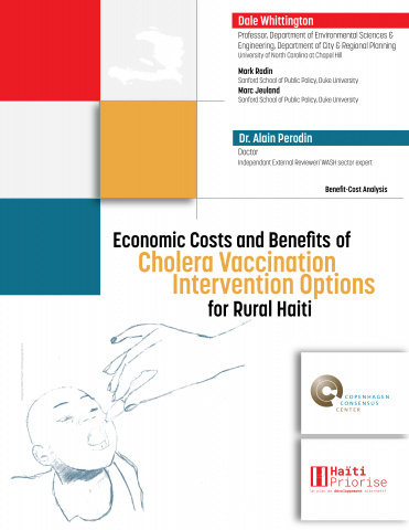 Economic Costs and Benefits of Cholera Vaccination Intervention Options for Rural Haiti image
