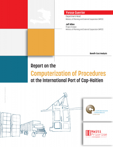 Report on the Computerization of Procedures at the International Port of Cap-Haïtien image