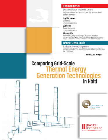 Comparing Grid-Scale Thermal Energy Generation Technologies in Haiti image
