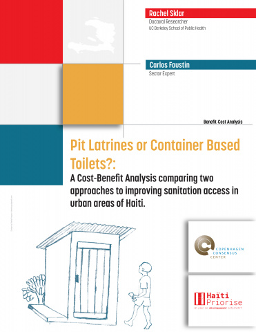Pit Latrines or Container Based Toilets?: A Cost-Benefit Analysis comparing two approaches to improving sanitation access in urban areas of Haiti. image