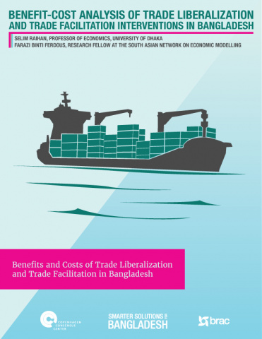 Benefit Cost Analysis of Trade Liberalization and Trade Facilitation Interventions in Bangladesh image