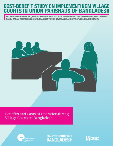 Cost Benefit Study on Implementing Village Courts in Union Parishads of Bangladesh image