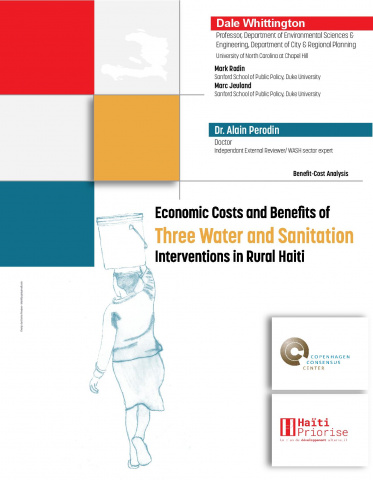 Economic Costs and Benefits of Three Water and Sanitation Interventions in Rural Haiti image
