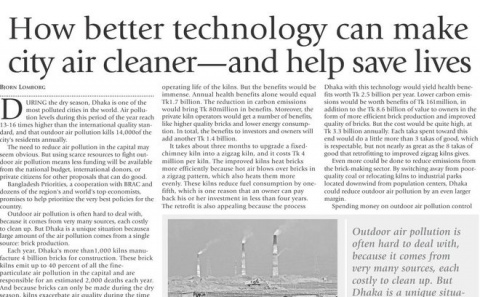 How better technology can make city air cleaner—and help save lives image