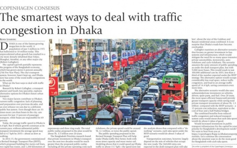 The smartest ways to deal with traffic congestion in Dhaka image