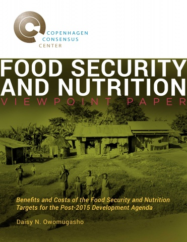 Viewpoint Paper - Food Security  image