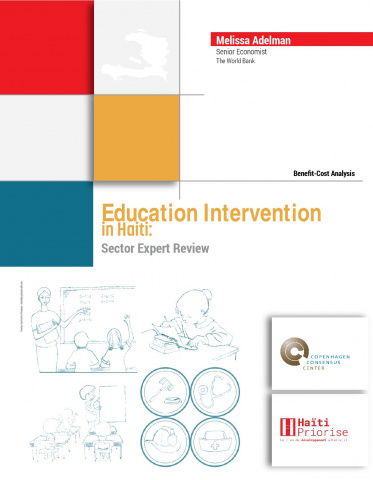 Education Intervention Benefit-Cost Analysis in Haiti: Sector Expert Review image